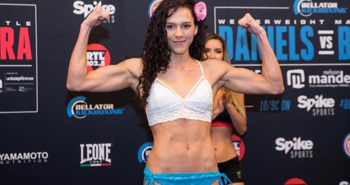 "¡Alejandra ""Azul"" Lara vuelve a pelear en Bellator!"