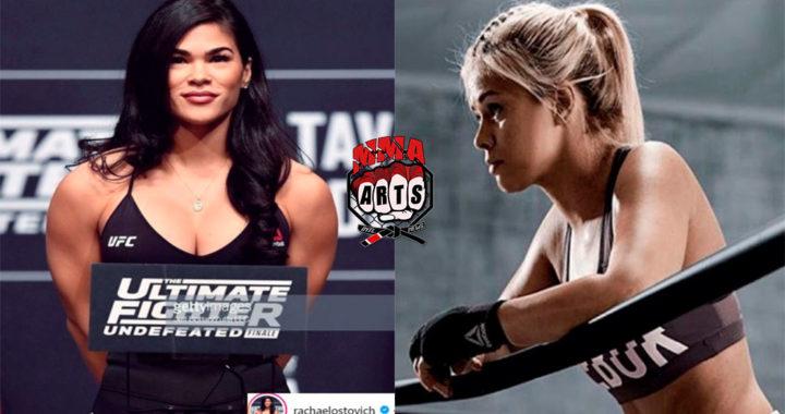 Las dos mujeres más hermosas del UFC se enfrentarán en 2019