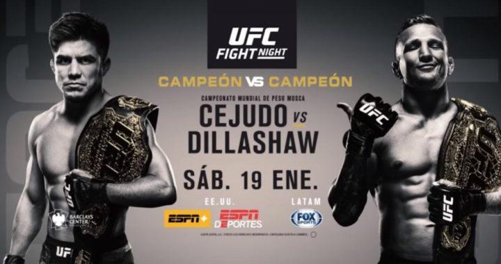 Horarios, transmisiones y todo lo que necesitas saber del UFC Fight Night 143