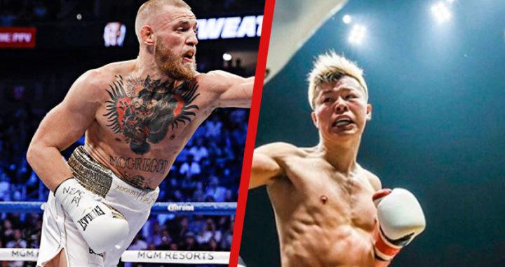 Tenshin Nasukawa acepta pelear con Conor McGregor