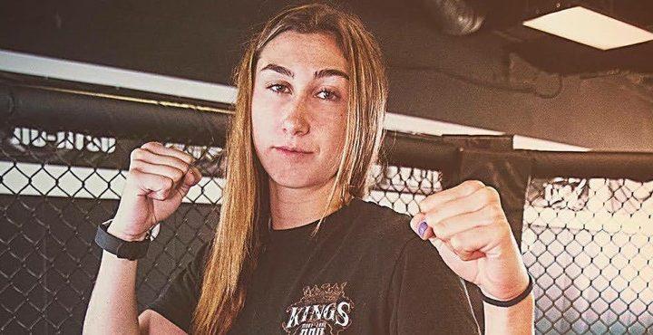 La historia de Sabina Mazo, la primera colombiana en llegar a UFC