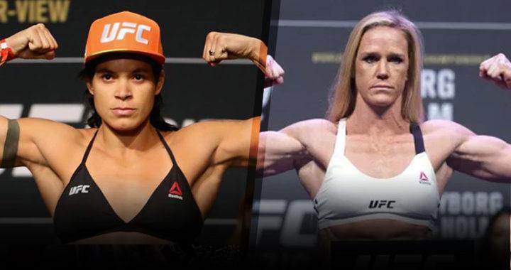 Amanda Nunes enfrentaría a Holly Holm en UFC 237