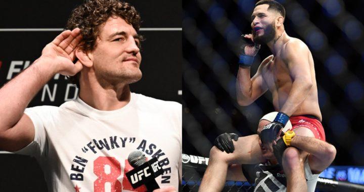Confirmado: Ben Askren vs Jorge Masvidal, en UFC 239