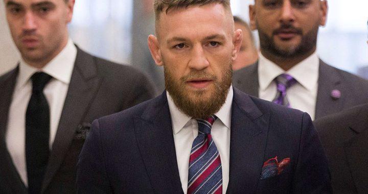 McGregor, investigado por asalto sexual