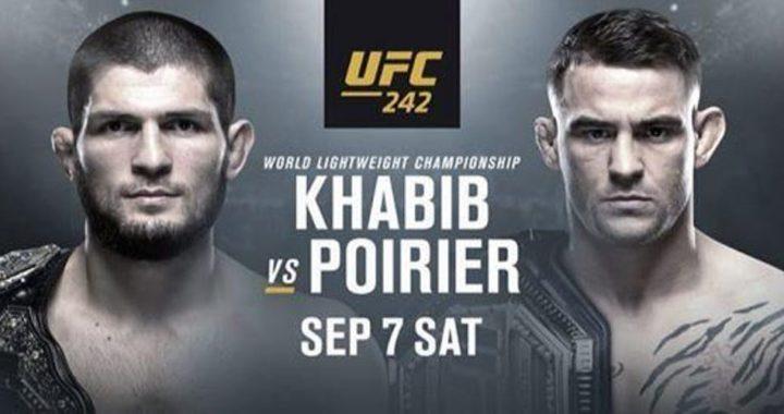 Horarios y transmisión UFC 242: Khabib Nurmagomedov vs Dustin Poirier