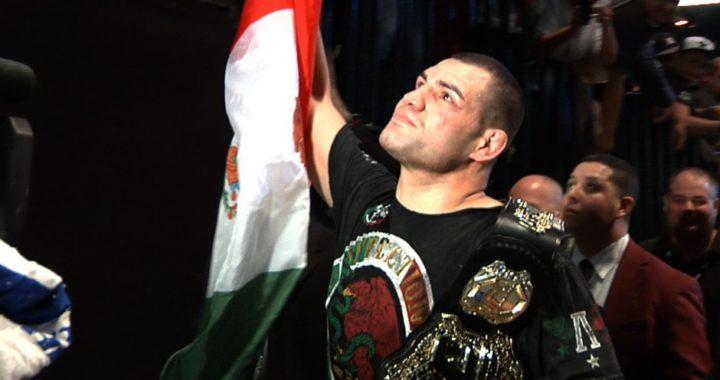 Última hora: ¡Caín Velásquez se retira de UFC!
