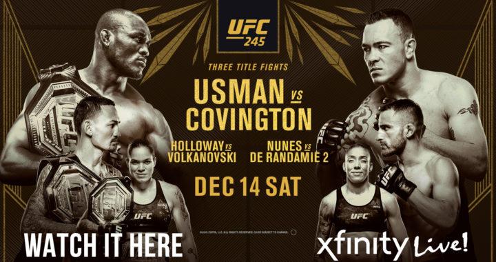 Los increíbles videos promocionales del UFC 245