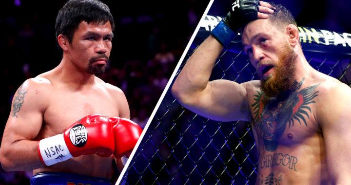 McGregor anuncia que podría regresar al boxeo con una pelea contra Manny Pacquiao