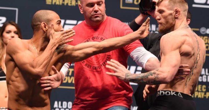"""""""No me veo peleando con Conor, busco el cinturón de peso gallo y hacer historia"""": José Aldo no está interesado en McGregor"""