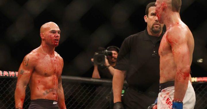 #PELEAGRATIS: Robbie Lawler vs Rory McDonald 2, el combate más sangriento y emocionante en la historia de UFC