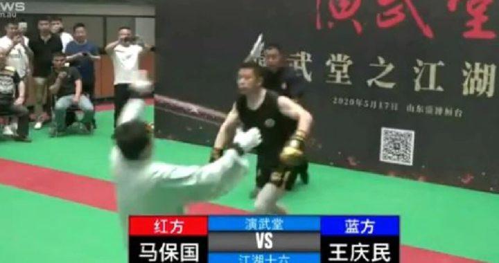 Peleador de MMA noquea a maestro de Tai Chi de 68 años