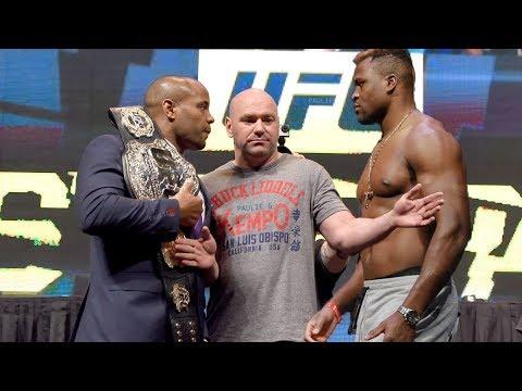 Francis Ngannou se enfrentaría a DC 'Cormier' por el título del peso pesado