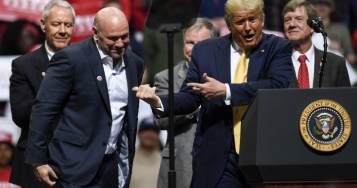 """""""Mi equipo de producción la cagó"""": Dana White explica porqué Donald Trump no apareció en televisión durante UFC 264"""