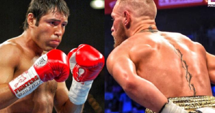 Conor McGregor podría regresar al boxeo y quiere enfrentar a Oscar De La Hoya