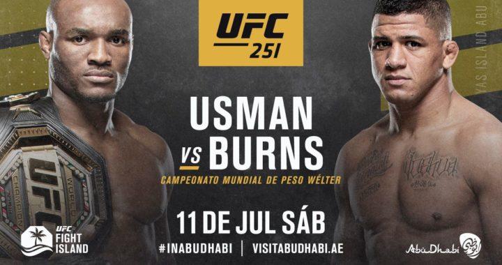 UFC anuncia tres peleas por el título en el UFC 251, que se realizará en Abu Dhabi