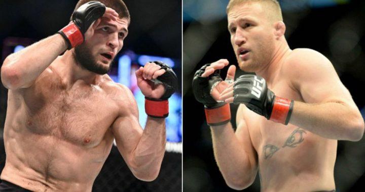 Khabib Nurmagomedov vs Justin Gaethje está casi lista para el UFC 253