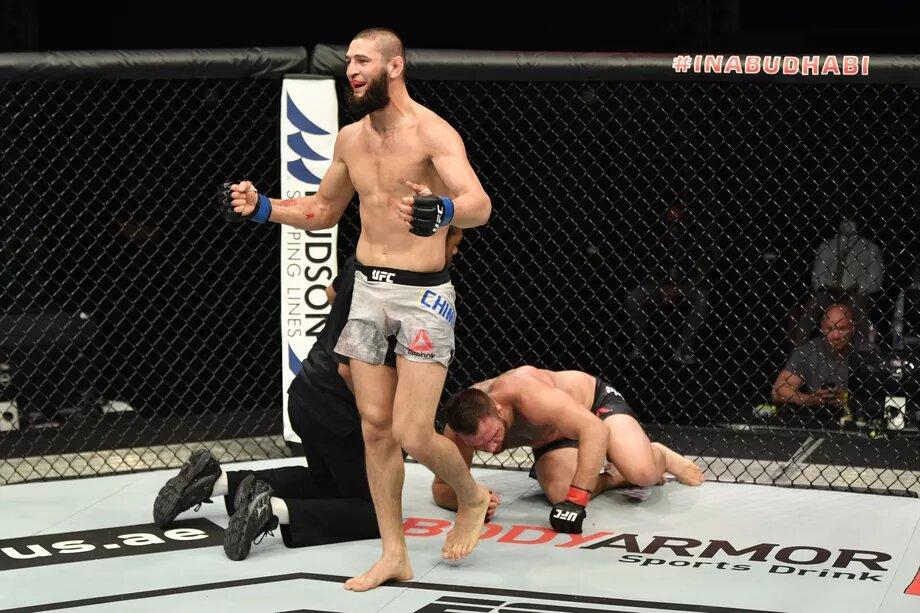 Khamzat chimaiev UFC
