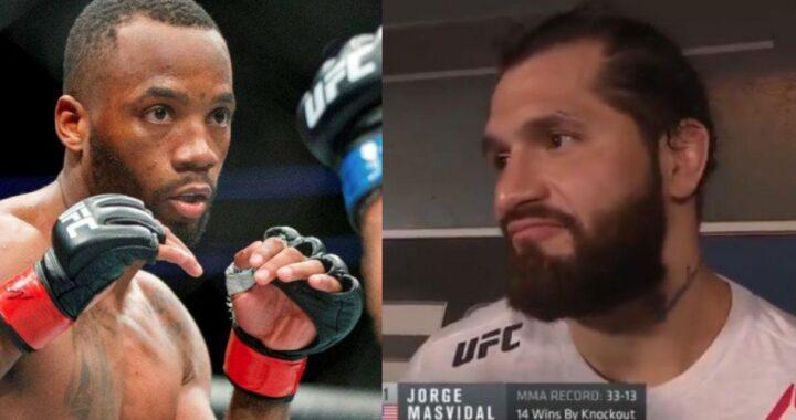 """""""Que venga cualquiera dentro del top 5, Leon Edwards no tiene las agallas"""": Jorge Masvidal sobre su regreso al octágono de la UFC"""