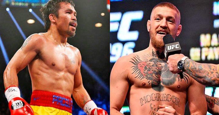 Conor McGregor publica Tweet donde parece aceptar una pelea con Manny Pacquiao