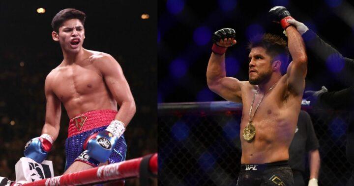 """El boxeador Ryan García quiere """"darle una paliza"""" a Henry Cejudo en MMA"""