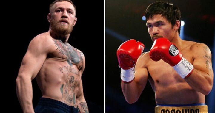 Conor McGregor confirma que peleará con Manny Pacquiao en boxeo