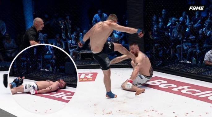 VIDEO: La descalificación más impactante en la historia de las MMA