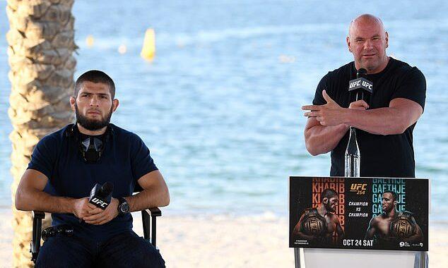 Dana White afirma que se reunirá con Khabib en Abu Dhabi para discutir su futuro en las MMA