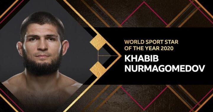 Khabib Nurmagomedov, el mejor deportista del mundo en 2020, según BBC