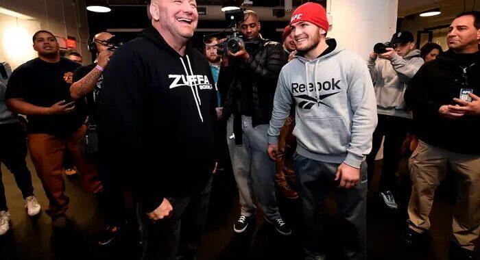 """""""Haré todo lo posible por convencer a Khabib de que regrese a la UFC"""": Dana White"""