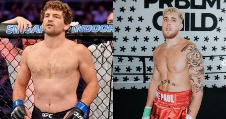 Oficial: El youtuber Jake Paul se enfrentará al ex peleador de la UFC Ben Askren en combate de boxeo