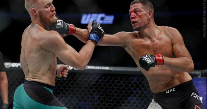 Entrenador de Nate Díaz afirma que la próxima pelea debe ser la trilogía con Conor McGregor
