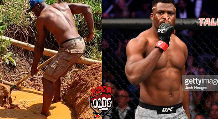 De vivir en las calles a convertirse en una estrella de la UFC: la historia de Francis Ngannou