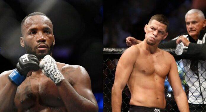 OFICIAL: Nate Diaz y Leon Edwards serán la pelea co estelar del UFC 262