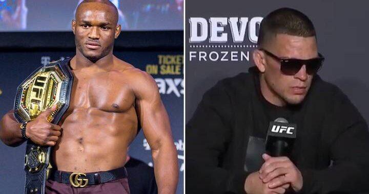 """""""Nunca huyo a un reto"""": Kamaru Usman habló sobre combate con Nate Díaz y revanchas con Covington o Edwards"""