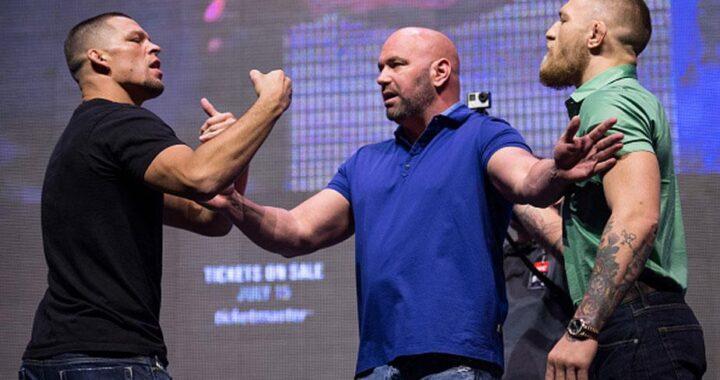 Conor McGregor acusa a Nate Diaz de usar esteroides y a la UFC de encubrirlo