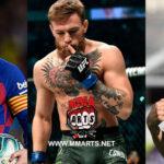 Conor McGgregor se convierte en el atleta más pagado del mundo por encima de Cristiano Ronaldo y a Leonel Messi