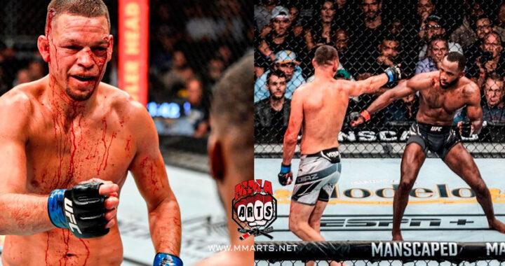 """""""Estaba sonámbulo"""": Nate Díaz sobre quinto asalto de la pelea con Leon Edwards en el UFC 263"""