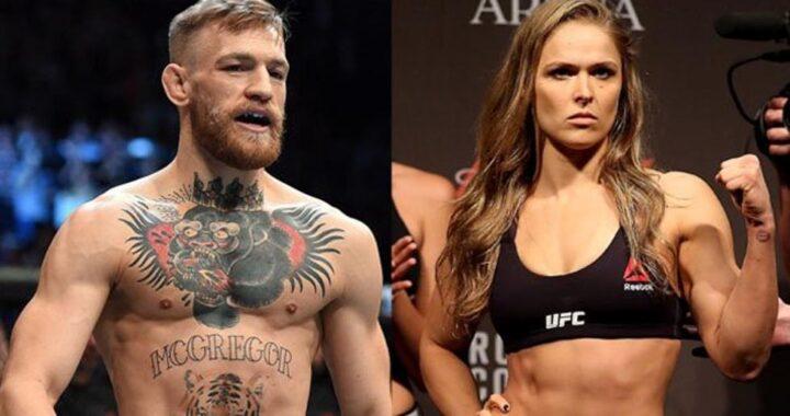 """""""Tienen suerte de tenerte en la UFC"""": El mensaje de Ronda Rousey a Conor McGregor"""