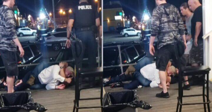 VIDEO: Policía somete a peleador de Bellator Dillon Danis con un 'mataleón'