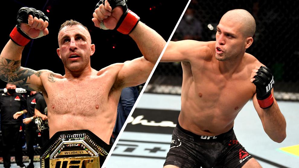 ortega vs volkanovski UFC 266