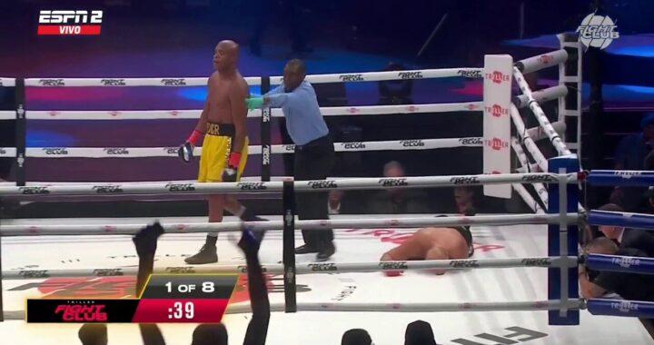 VIDEO: Anderson Silva vence a Tito Ortiz en el primer round con increíble KO