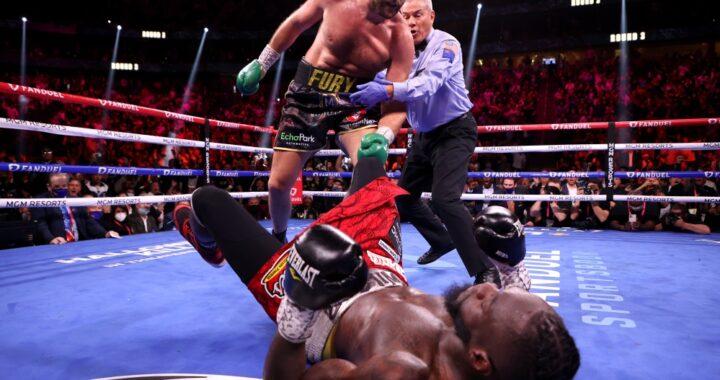 """""""¿Cómo puede decir eso? Es un mal perdedor"""": Tyson Fury critica a Deontay Wilder"""